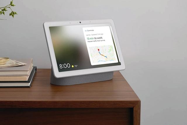 Google представила 10 центр умного дома the Nest Hub Max с камерой