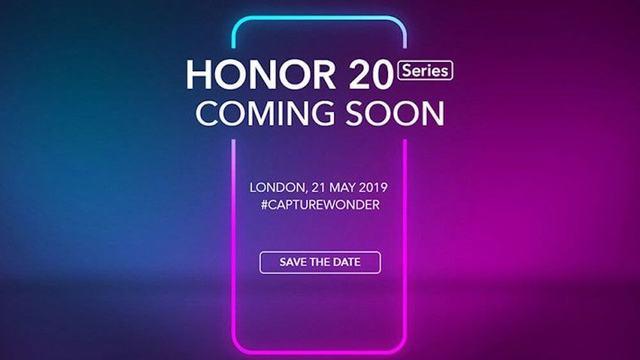 Смотрите онлайн трансляцию Honor 20 и Honor 20 Pro