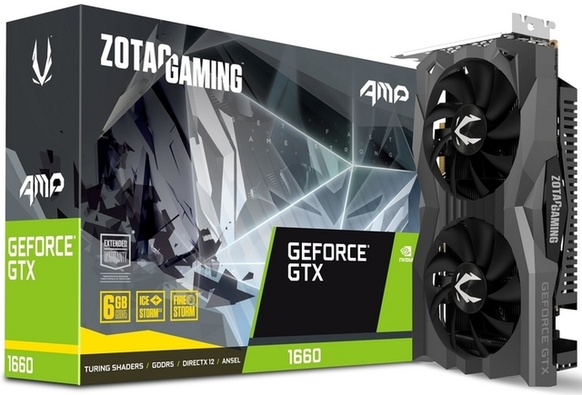 Zotac представила две собственные версии GeForce GTX 1660