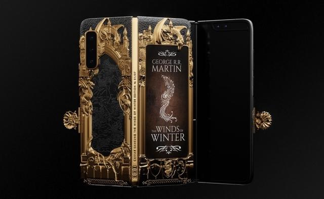 Caviar представила версию Samsung Galaxy Fold в стиле «Игры престолов»