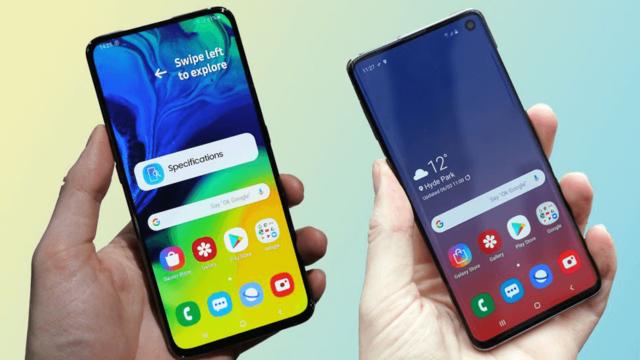 Samsung Galaxy A80 vs Galaxy S10: в чем разница между новейшими флагманами?