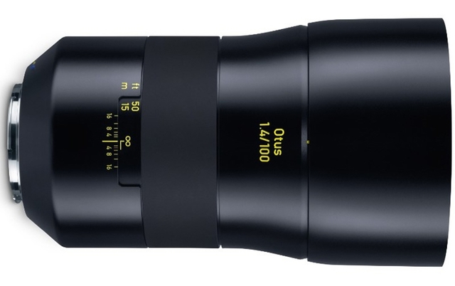 Zeiss Otus 1.4/100: объектив за €4500 для зеркальных камер Canon и Nikon